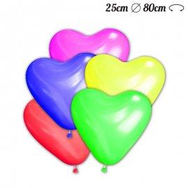 Globos Corazón de Látex 25 cm