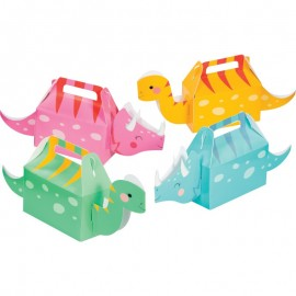 4 Cajitas 3D Dino Party