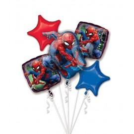 Bouquet de Globos Spider Man