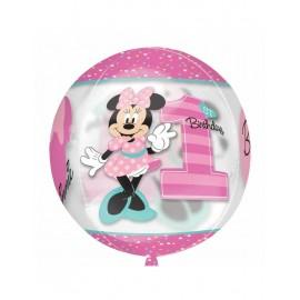 Globo Orbz Minnie 1st Birthday