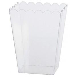 Bol de Plástico Transparente 19 cm