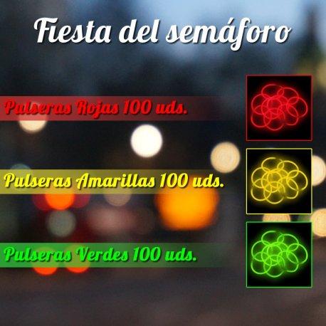 Fiesta del Semáforo Pulseras Luminosas