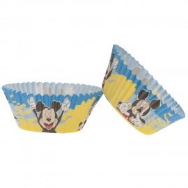 25 Cápsulas Mickey Mouse para Cupcakes