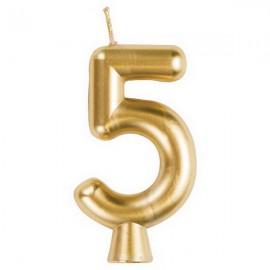 Vela de Número 5