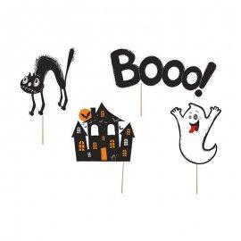 4 Accesorios de Halloween para Photocall