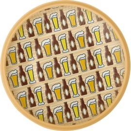 8 Platos Cerveza 18 cm