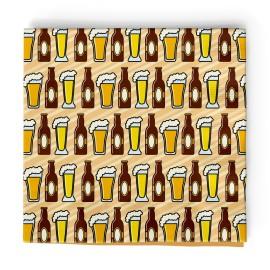 16 Servilletas Cerveza 33 cm
