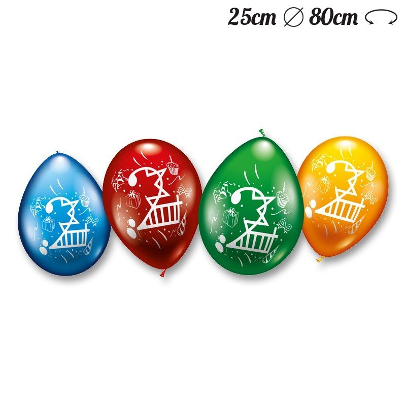 Globos-Numero-2-Redondos-M02-25-cm