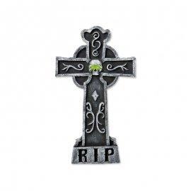 Lápida Satán Ojos Verde
