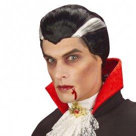 Peluca Negra Vampiro
