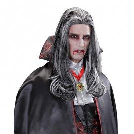 Peluca Larga de Vampiro