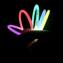 Pulseras Luminosas Unicolor (50 uds)
