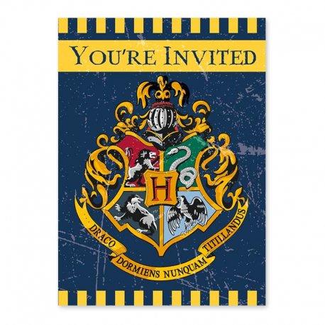 8 Invitaciones Harry Potter
