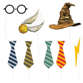 8 Accesorios Photocall de Harry Potter