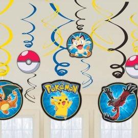 12 Colgantes Pokémon