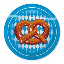 8 Platos Oktoberfest 23 cm