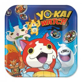 8 Platos Yo Kai Watch 23 cm