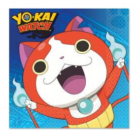 16 Servilletas Yo Kai Watch 33 cm