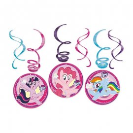 6 Colgantes My Little Pony