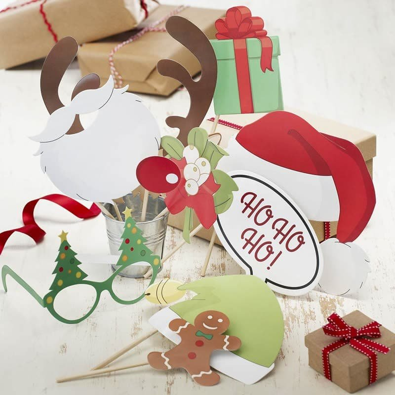 Accesorios vintage navide os para photocall - Accesorios navidenos para decorar ...
