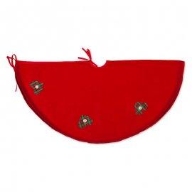 Cubre Pie de Árbol con Corazones 90 cm
