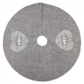 Cubre Pie de Árbol Gris 90 cm
