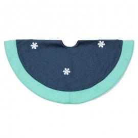 Cubre Pie de Árbol Azul 70 cm