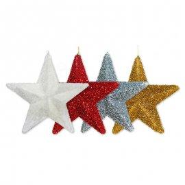 Estrella de Lamé 26 cm