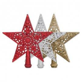 Estrella Decorada para Árbol 22 cm