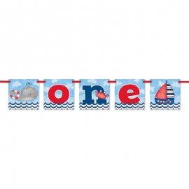 Banderín Primer Año Niño