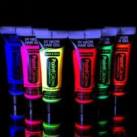 Maquillaje Fluorescente para Cabello
