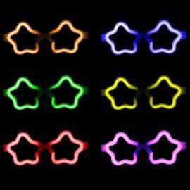 Gafas Luminosas Estrella Granel (50 uds)