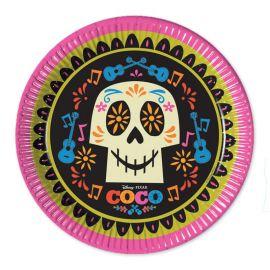 8 Platos Coco 23 cm