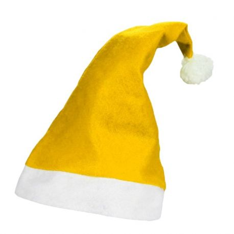 3e8efcb14bed9 Gorro Papa Noel Amarillo - Mejor Precio Garantizado