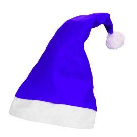 Gorro Papa Noel Azul