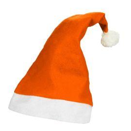 Gorro Papa Noel Naranja
