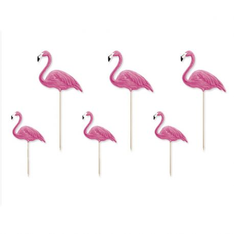 6 Toppers Flamencos