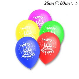 Globos Happy Birthday Pack Redondos 25 cm