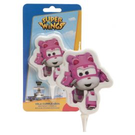 Vela Dizzy Super Wings 7,5 cm