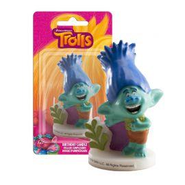 Vela Poppy Trolls 7,5 cm