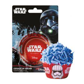 50 Cápsulas Star Wars para Cupcakes