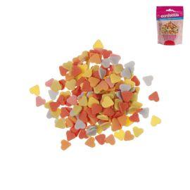 Confeti forma Corazones de Azúcar