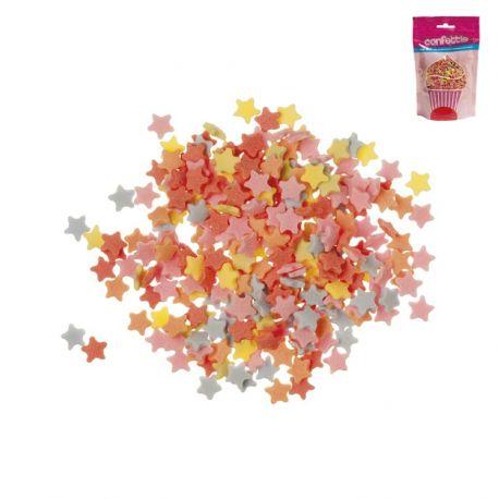 Confeti forma Estrellas de Azúcar