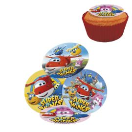 16 Mini Discos Super Wings