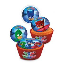 16 Mini Discos Pj Masks