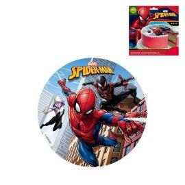 Disco Spiderman de Azúcar Sin Gluten