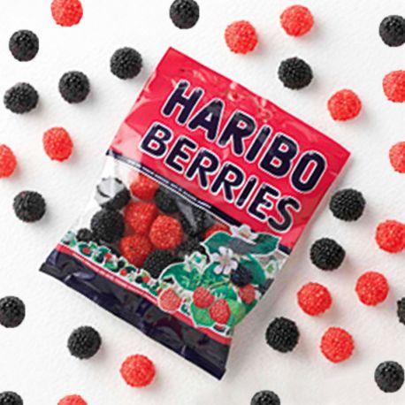 Moras Rojas y Negras Haribo 100 Gr