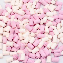 Toppings de Nubes Rosa y Blanco Fini 1 Kg