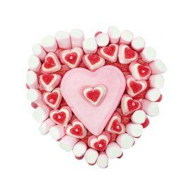 Tarta de Chuches forma Corazón 500 Gr