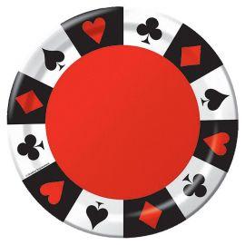 8 Platos Casino 23 cm